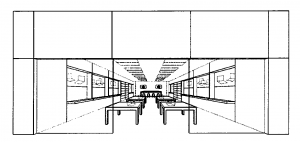 Trademark Application Rendering of Apple Store Design