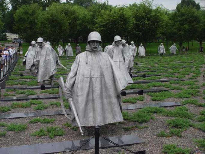 Sealed United States USPS Stamp Sheet Korean War Veterans Memorial ...
